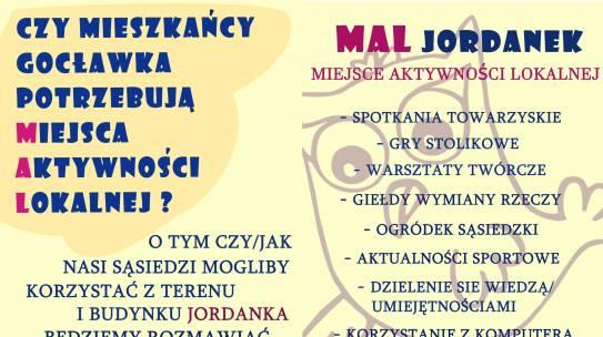 MAL Jordanek – Miejsce Aktywności Lokalnej