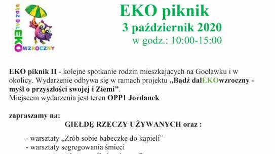 EKOpiknik II i Giełda rzeczy używanych – 3.10.2020