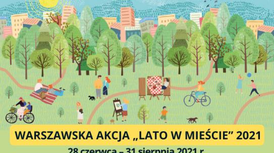 Lato w mieście 2021 – plakat